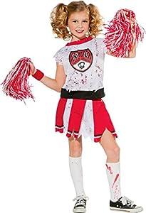 Halloween - Disfraz de Animadora Zombie para niña, infantil 5-7 años (Rubie