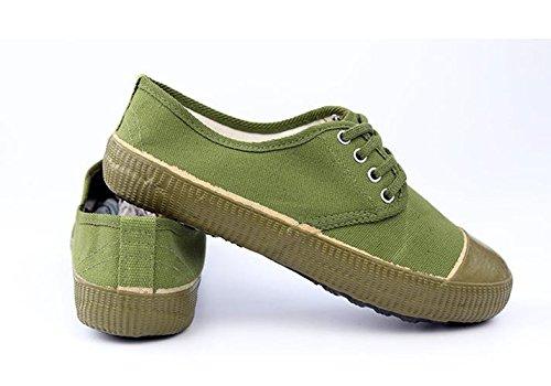 Ein bißchen Herren mode low-Top Herbst sommer Frühling outdoor sportschuhe Fitnessschuhe Straßenlaufschuhe Sneaker Grün