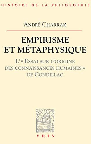 Empirisme et métaphysique (Bibliothèque d'Histoire de la Philosophie) par André Charrak