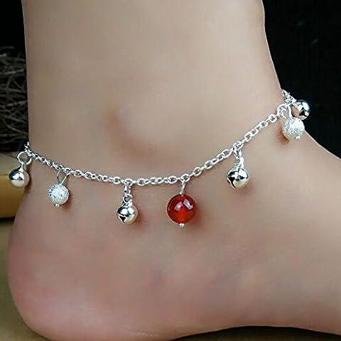 Agate naturel sculpté de poudre de 5 bracelets bijoux rétro bell shell,cloches Onyx perles givrées