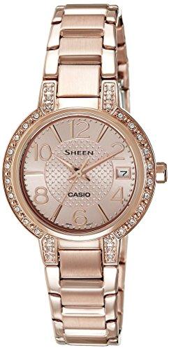 Casio (SHE-4804PG-9AUDR|SX130) Sheen Gold Dial Women's Analog Watch image