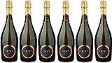 CRUSET Vin de France Vin Mousseux Blanc de Blancs Demi-Sec 750 ml - Lot de 6