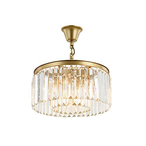 Oro Topdeng De Lujoso Estar Pasillo 6 Espumoso Para Luminaria ArañaE14 Cristal Sala Redondo Lámpara Moderno Lights Techo Luz Cocina K9 myNw8Pn0Ov