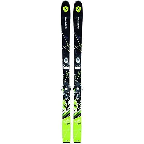 Dynastar–Pack esquí Powertrack 89+ fijaciones Look SPX12Dual B90hombre–hombre–negro, negro, 172