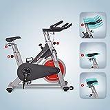 AsVIVA S8 Indoor Cycle Cardio VIII – ein Fitnessbike und Heimtrainer/Fitnessgerät für das Workout inkl. Getränkehalter – das Fitnessrad/Speedbike - 6