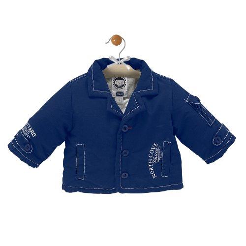 Chicco Kleidung Kinder Jungen Jacke mit Cardigan Innen Blau Jeans (Bb Jacke Jeans)