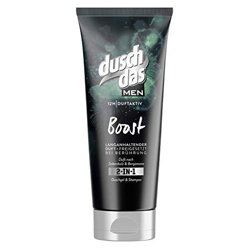 Duschdas For Men 2 in 1 Duschgel & Shampoo Boost, 6er Pack (6 x 200 ml)
