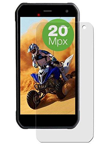 Maoni Bildschirmschutzfolie für Haier Leisure L7 - (6 Stück) seidenmatte Premium Folie Antireflex - Antifingerprint - Schutz Folie - Schutzfolie