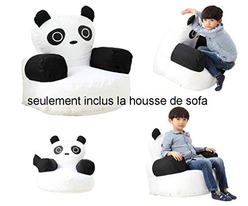 utel Sofa Panda Bequemer Stuhl druckt Innen- / im Freien weiches Fußbodenkissen für Kinder (Volles Sofa) (Bohnen-werfen Spiel)