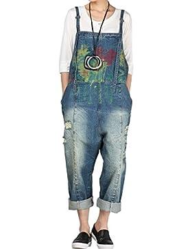 Vogstyle Pantalones de Mezclilla Pantalón de Mezclilla
