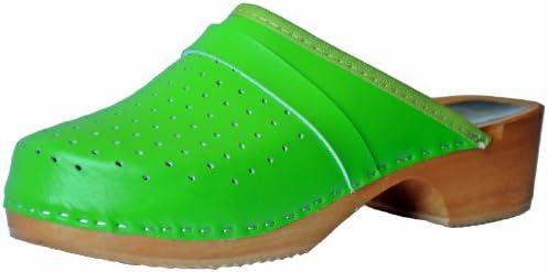 Marited - Zuecos para mujer Verde verde