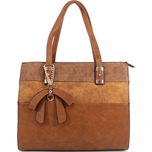 Elegant Fashions - Sacchetto Ragazza donna Unisex, neonati Brown