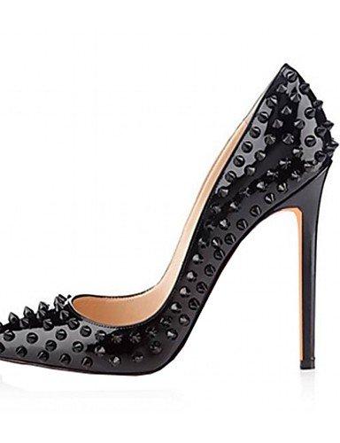 WSS 2016 Chaussures Femme-Mariage / Bureau & Travail / Habillé / Décontracté / Soirée & Evénement-Noir / Vert / Rose / Rouge / Argent / Or-Talon black-us8.5 / eu39 / uk6.5 / cn40