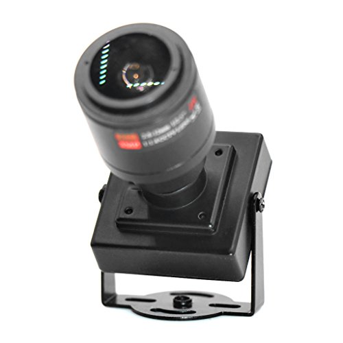 BouT CCTV HD-AHD 2.0MP Zoomobjektiv 2.8-12mm Weitwinkel Mini Box AHD CVI TVI CVBS Kamera