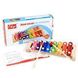 SEN Octave Hand Knock Piano per Bambini Pianoforte Musical Toys Early Educational Toy Multicolor