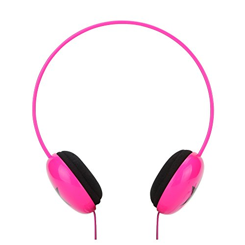 RockPapa OV250 Cuffie Auricolari per Bambini, Regolabile, Over-Ear Headphones per