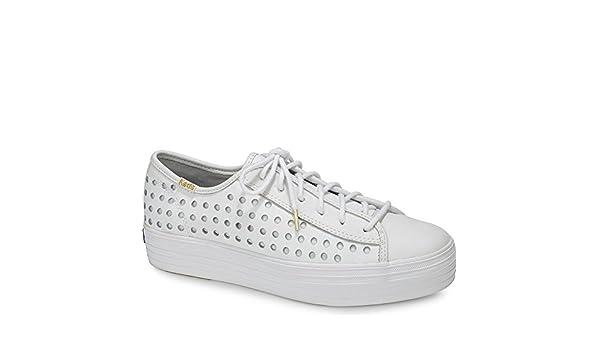 Keds Triple Kick Plateau Sneaker Perforiertem Leder (EU 41) 7Loz7OEZ4