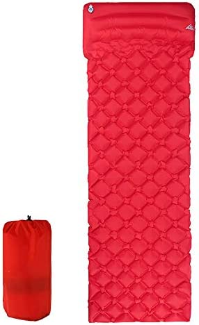 GLJY Materasso Gonfiabile Dormire Pad per Il Campeggio, Auto-gonfiamento Campeggio Campeggio Campeggio Mat con Cuscino Ultraleggero Compatto Impermeabile,rosso,192  60  63 B07LB6FVMB Parent | In Linea  | I più venduti in tutto il mondo  | Outlet  bdce2f