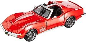 Maisto- Chevrolet Corvette 1970, Color Rosa y Dorado (31202R)