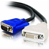 Cables To Go, Cavo di estensione analogico DVI-A F/HD15 VGA M, 3 metri