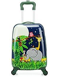 T-Bags Jungle 4 Wheel Trolley Bag 16''