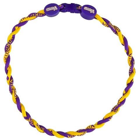 Minnesota Vikings - Titanium Twist Necklace