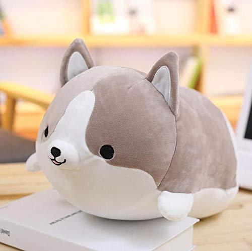 YRBB Plush Toy 1 Stück 30 cm Nette Corgi Hund Plüschtier Gefüllte Weiche Tier Cartoon Kissen Schöne Kinder Kawaii Valentine Präsentieren Spielzeug (Minion Valentine Stofftier)