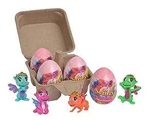 Simba Set 4 Safiras Magic Egg, Multicolor (5951019)