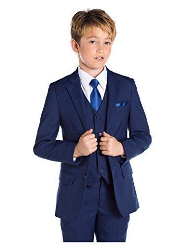 Paisley of London, Anzug für Jungen, Kombination für Schulball, Dreiteiler, 12-18Monate–13Jahre, Blau Gr. 9 Jahre, blau
