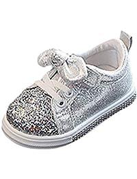 40a4a13bbff03 QinMM Enfants Bébé Filles Garçons Bling Paillettes Bowknot Cristal Run  Sport Sneakers Chaussures A18 Chaussures de