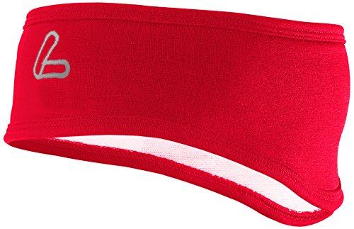 Löffler Stirnband Thermosoft, Rot, 1, 09106 (Klassisches Stirnband)