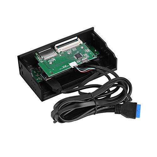 VBESTLIFE 5.25inches Multifunktions Interne Kartenleser,Dashboard PC Frontplatte,unterstützt M2, MSO, SD, MS, XD, 64G CF Karte