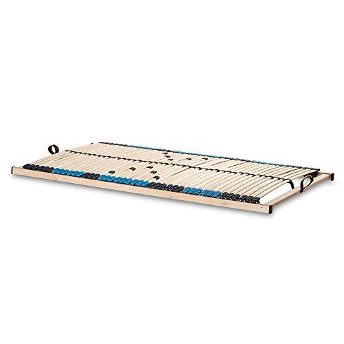 SUPERFLEX NV-MZV 7-Zonen-Montagerost, 42 stabile Federholzleisten mit durchgehenden Holmen Größe 90x200