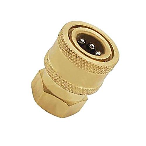 Giunto ad aria compressa nipplo a innesto rapido raccordo tubo connettore adattatore tubi/tubo tubo tubo connettore 15 mm a 3/8 femmina presa