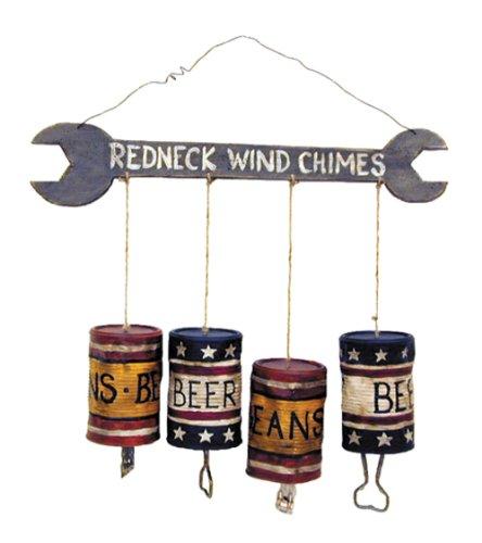 OHIO WHOLESALE Redneck Windspiel aus unserer Humor Kollektion s 12 X 2 X 14 inches Mehrfarbig