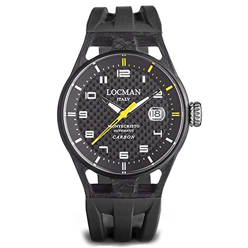 Locman Men's Montecristo Watch Carbon Breaker