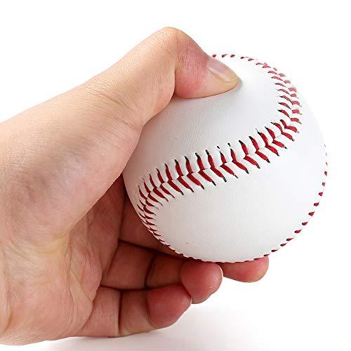 Goodplan Durable Baseball PU Leder Doppelsteppnaht Hand Nähen Baseball Einzelnen Baseball für den Wettbewerb und Geschenk 1 Pcs