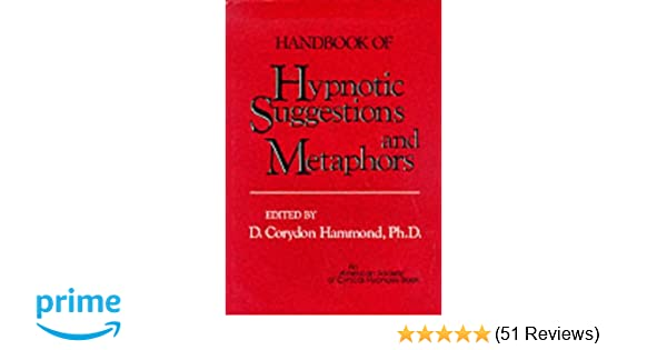 Handbook Of Hypnotic Suggestions And Metaphors Amazon D