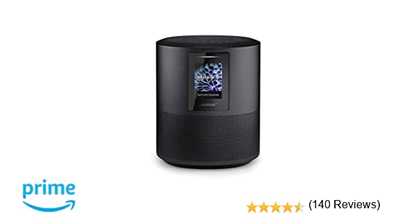 Bose Home Speaker 500 with Built In Amazon Alexa and Google Assistant Voice Control Luxe Silver