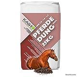 KAS-Pferdedung 100% Reiner Pferdemist als Universaldünger für Haus und Garten in staubarmen Pellets gepresst NPK 1,6-3,6-2,4 (25kg)