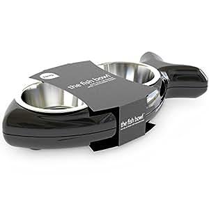 Hing Designs Cat Fish Bowl, Black