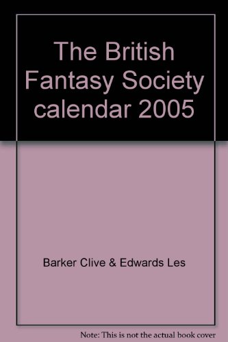 The British Fantasy Society calendar 2005