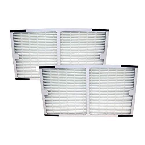 BLUELIRR 2pc Ersatzteile idylis HEPA Luftreiniger, Filter für idylis Luftreiniger Zitrusfrüchte iap-10 - 200, iap-10 - 280, Modell # iaf-h-100 C (200 Idylis Luftreiniger)