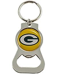 aminco WinCraft–Llavero con abrebotellas, hombre, NFL-BK-702-19, Green Bay Packers