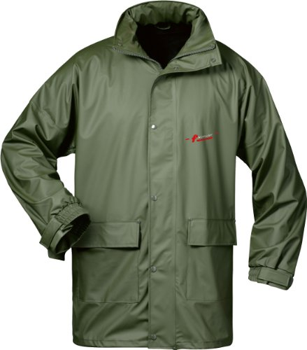 NORWAY PU Regen-Jacke mit Kapuze - oliv - Größe: XXL -