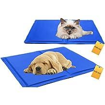 Pureage Tappeto Cane freddo Cestino di gatto d' estate Riduzione efficace la temperatura di animali per rimanere più Cool