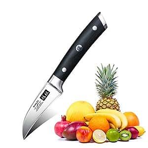 SHAN ZU Schälmesser Küchen Messer Klein Scharf Edelstahl Obstmesser 7.6cm - CLASSIC Series
