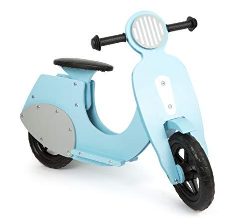small foot 11979 Draisienne Scooter 'Bella Italia' en bois, pour les enfants à partir de 3 ans (bleu)