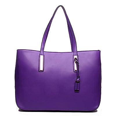 Miss Lulu Portefeuille en cuir pour femme Style Grand sac à main fourre-tout à bandoulière