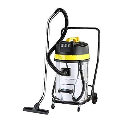 JBM 51838 Aspiradora Industrial, seco y húmedo, 80 L